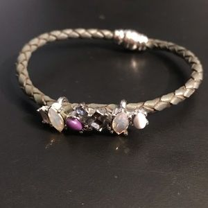 Loft - Magnetic Stone and Braided Bracelet